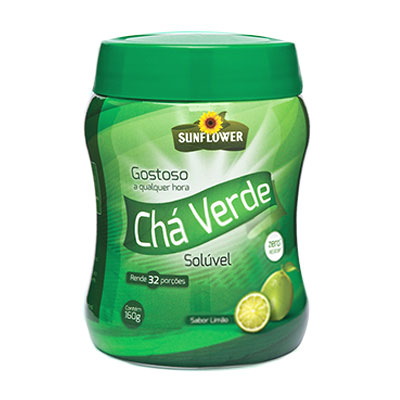 CHA-VERDE-SOLUVEL-LIMAO-160g-SUNFLOWER