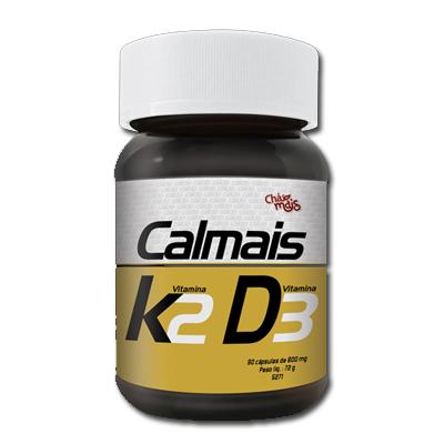 CALMAIS-90-CAPS-COM-VITAMINA-K2-E-VITAMINA-D3-CHA-MAIS