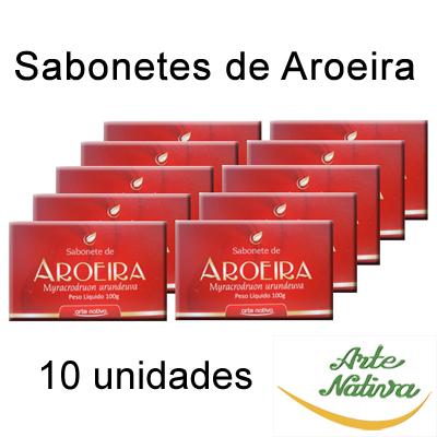PROMOÇÃO-SABONETE-DE-AROEIRA-100G-ARTE-NATIVA---10-UNIDADES