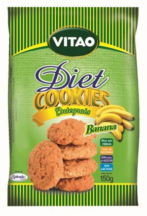 COOKIES DIET BANANA 150G VITAO