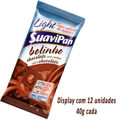 BOLINHO-LIGHT-CHOCOLATE-12-X-40G-SUAVIPAN