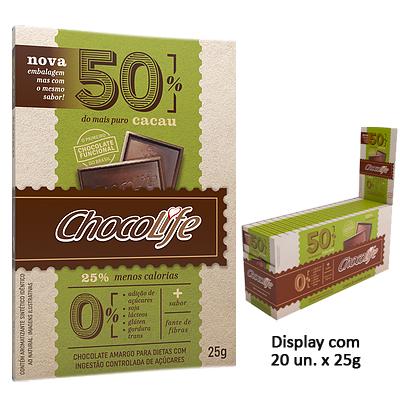 CHOCOLIFE-50-CACAU-DISPLAY-COM-20-UNIDADES-DE-25G-CHOCO-LIFE