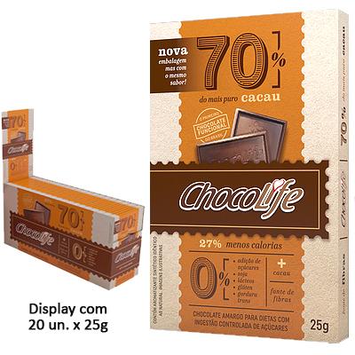 CHOCOLIFE-70-CACAU-DISPLAY-COM-20-UNIDADES-DE-25G-CHOCO-LIFE