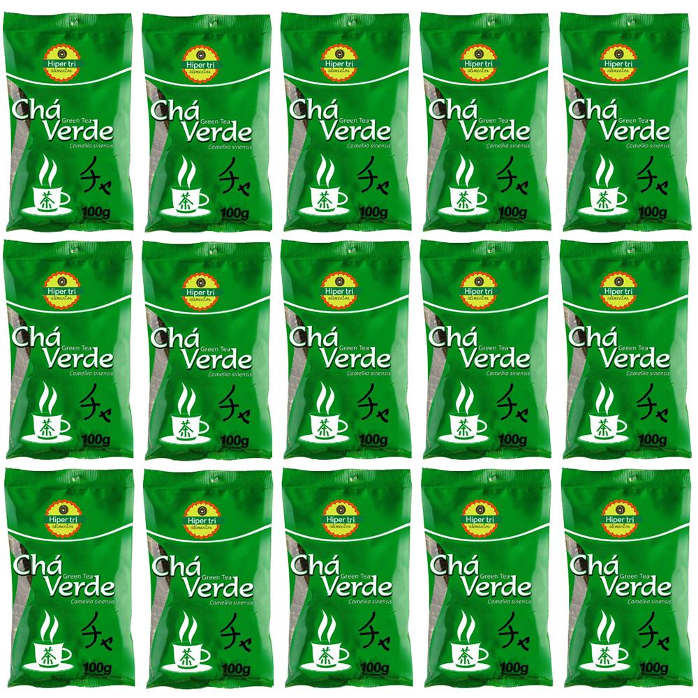 Kit-com-15-Chá-Verde-100g-Infusão-Hiper-Tri--Green-Tea