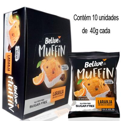 MUFFIN-ZERO---SEM-LACTOSE-SEM-GLUTEN-SEM-ACUCAR-10X40G-BELIVE-BE-FREE