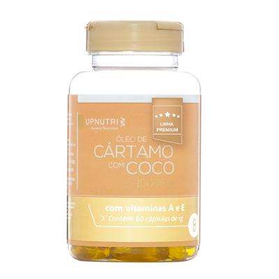 OLEO-DE-CARTAMO--E-COCO---60-CAPSULAS---1000MG---UPNUTRI